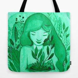 mutual green love Tote Bag
