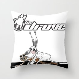 The Downlow Mug Throw Pillow