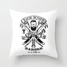 Jack Knife Throw Pillow