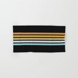 Retro Sunshine Stripes Hand & Bath Towel