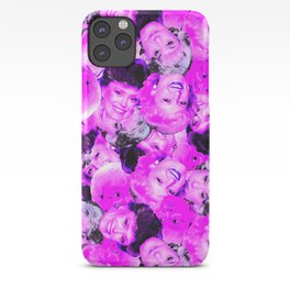 Golden Girls Toss in Electric Pop Pink iPhone Case