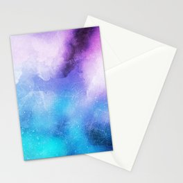 Cloudy leggings | Scratches grunge | Mystical leggings Stationery Cards