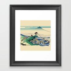 Rescue Framed Art Print