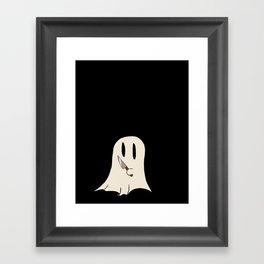 Knife Ghost Framed Art Print