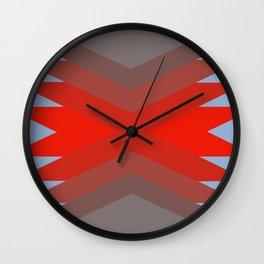 Light Blue Retro Dream Wall Clock