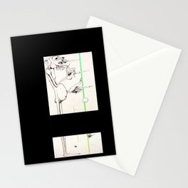 Mile's Warlock Stationery Cards