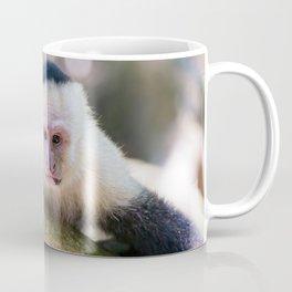 White headed capuchin monkey Coffee Mug