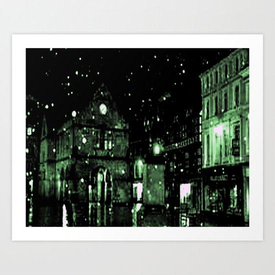 Shrewsbury in the limelight  Art Print