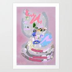 Cosmic Behaviour Art Print
