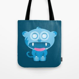 hungry monster Tote Bag