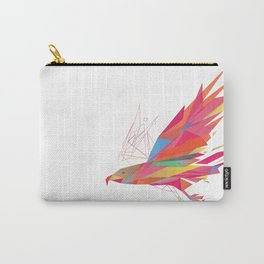 Polygonal-Eagle Carry-All Pouch