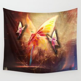Breezy Morning Blues Wall Tapestry