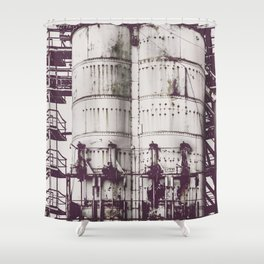 Ghosts of Industry Shower Curtain