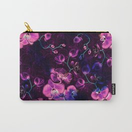 Dark Orchids Carry-All Pouch