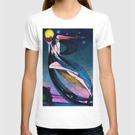 Classical Masterpiece 'In Powder and Crinoline' by Kay Nielsen T-shirt