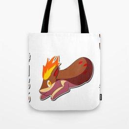 Shiny Quilava Tote Bag