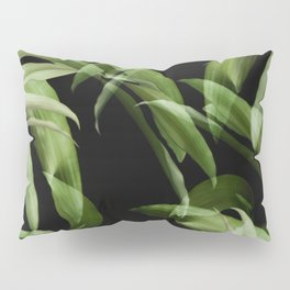 Tropical leaves. Pattern. Pillow Sham