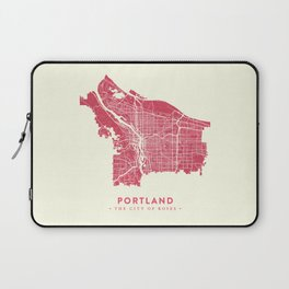 Portland City Map Laptop Sleeve