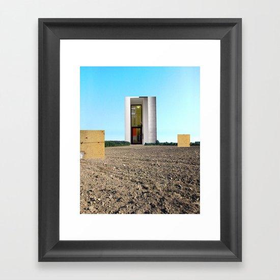 Surreal CityLand Collage 5 Framed Art Print