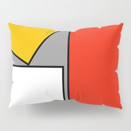Leaning On You Abstract Pillow Sham