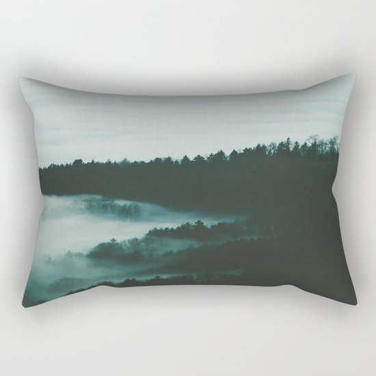 dark fog Rectangular Pillow