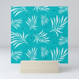 Island Breeze Aqua Mini Art Print