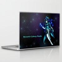 berserk Laptop & iPad Skins featuring Berserk Cyborg Panda by Berserk Cyborg Panda