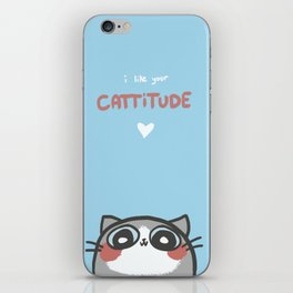 I Like Your Cattitude iPhone Skin