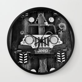 A Time Gone By III Wall Clock