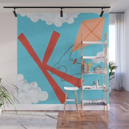 K is for Kite Wall Mural