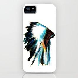 Indian Headdress Native America Illustration iPhone Case