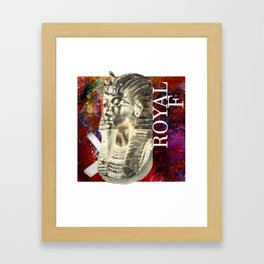 Royal As F**K Framed Art Print