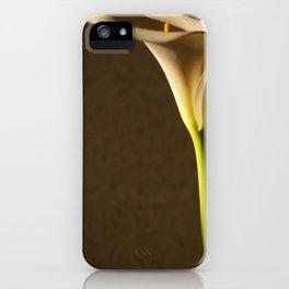 White Flower - Cala iPhone Case
