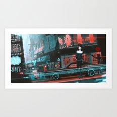 Cyrstal Art Print