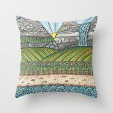 A Tangled Journy Throw Pillow