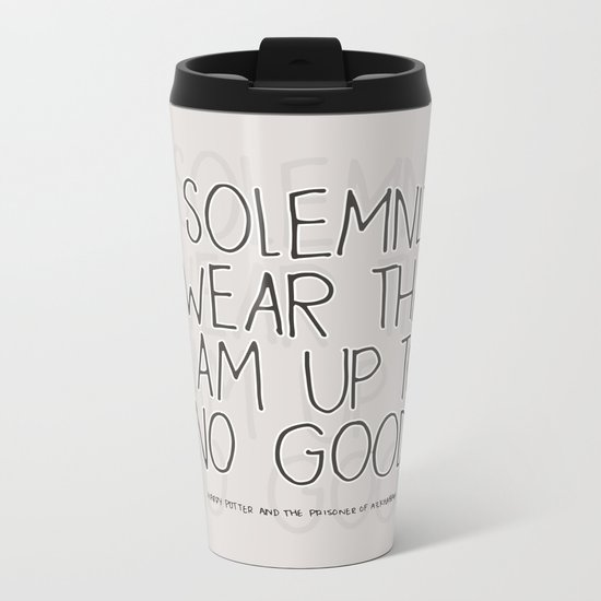 Harry Potter Quote #1 Metal Travel Mug