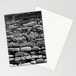 Stone Pile Wall Stationery Cards