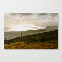 stay gold Canvas Prints featuring Stay Gold by Memory Motel Photography & Art