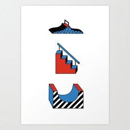SKATEPARK Art Print