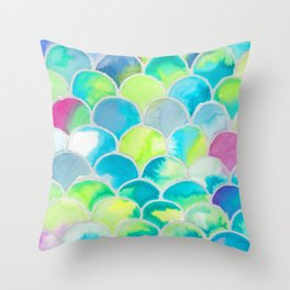 The Fish Into you Throw Pillow