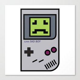 Nintendo Sadboy Canvas Print