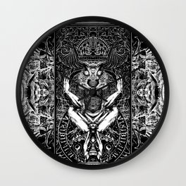 3:33 Live From the Grove - Moloch print Wall Clock