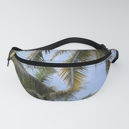 Tropical Island Palm Trees and Blue Skies Fanny Pack