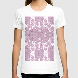 Shibori Rose Crepe De Chine T-shirt
