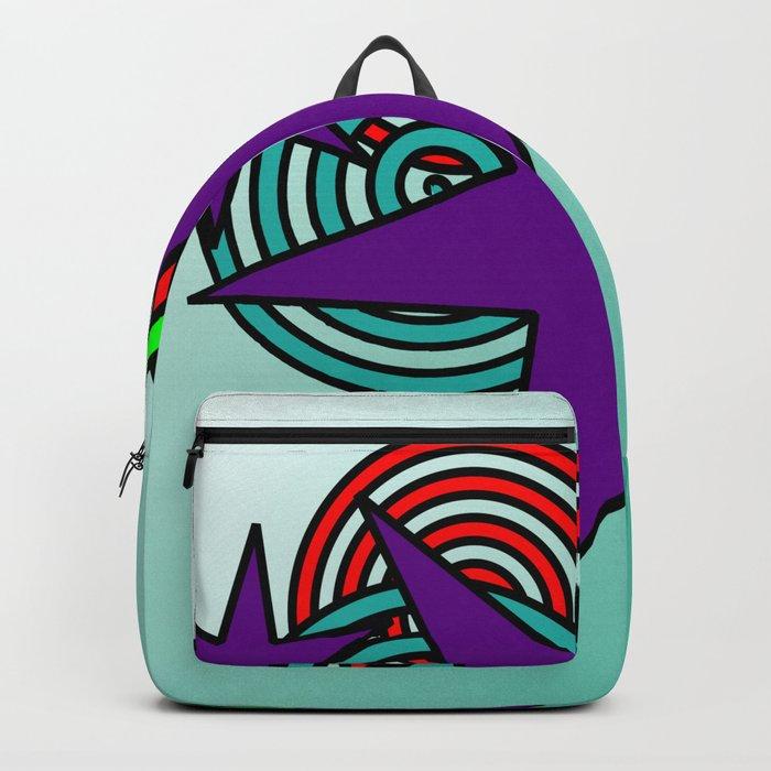 Purple Stars Backpack