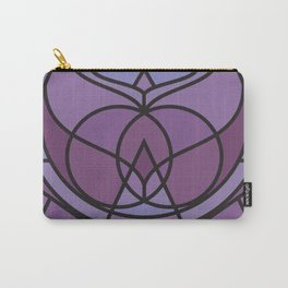 Lavender Glass Carry-All Pouch