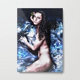 Loki - A Study in Seduction X Metal Print