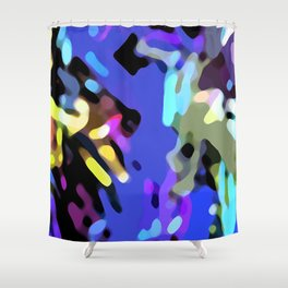 Among the corals Shower Curtain