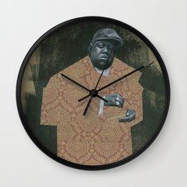 BIG POPPA Wall Clock
