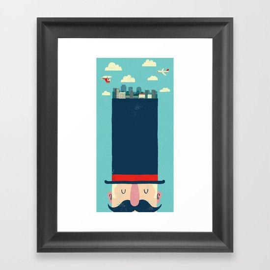 City Gent Framed Art Print
